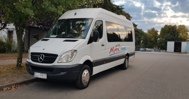 MERCEDES SPRINTER – wynajem autobusów i busów